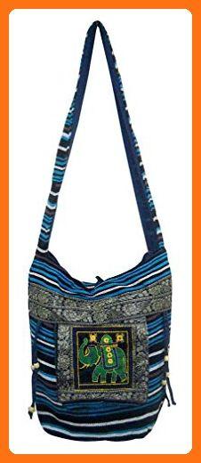 6987a7492e56 Indian Elephant design multi colored tribal boho indian handmade Dari Shoulder  Bag - Shoulder bags ( Amazon Partner-Link)