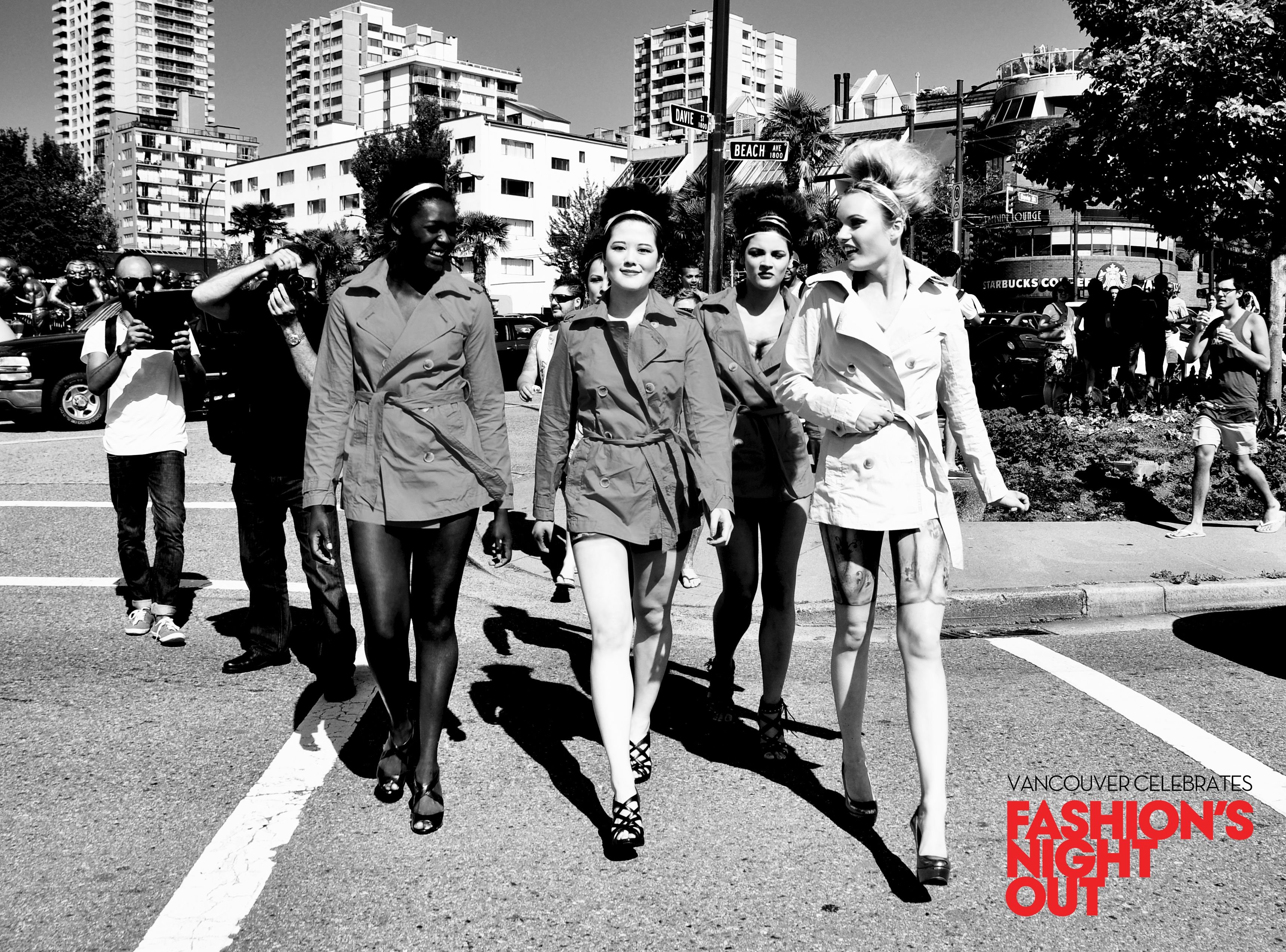 Crosswalk action #FNOV #fashion #models