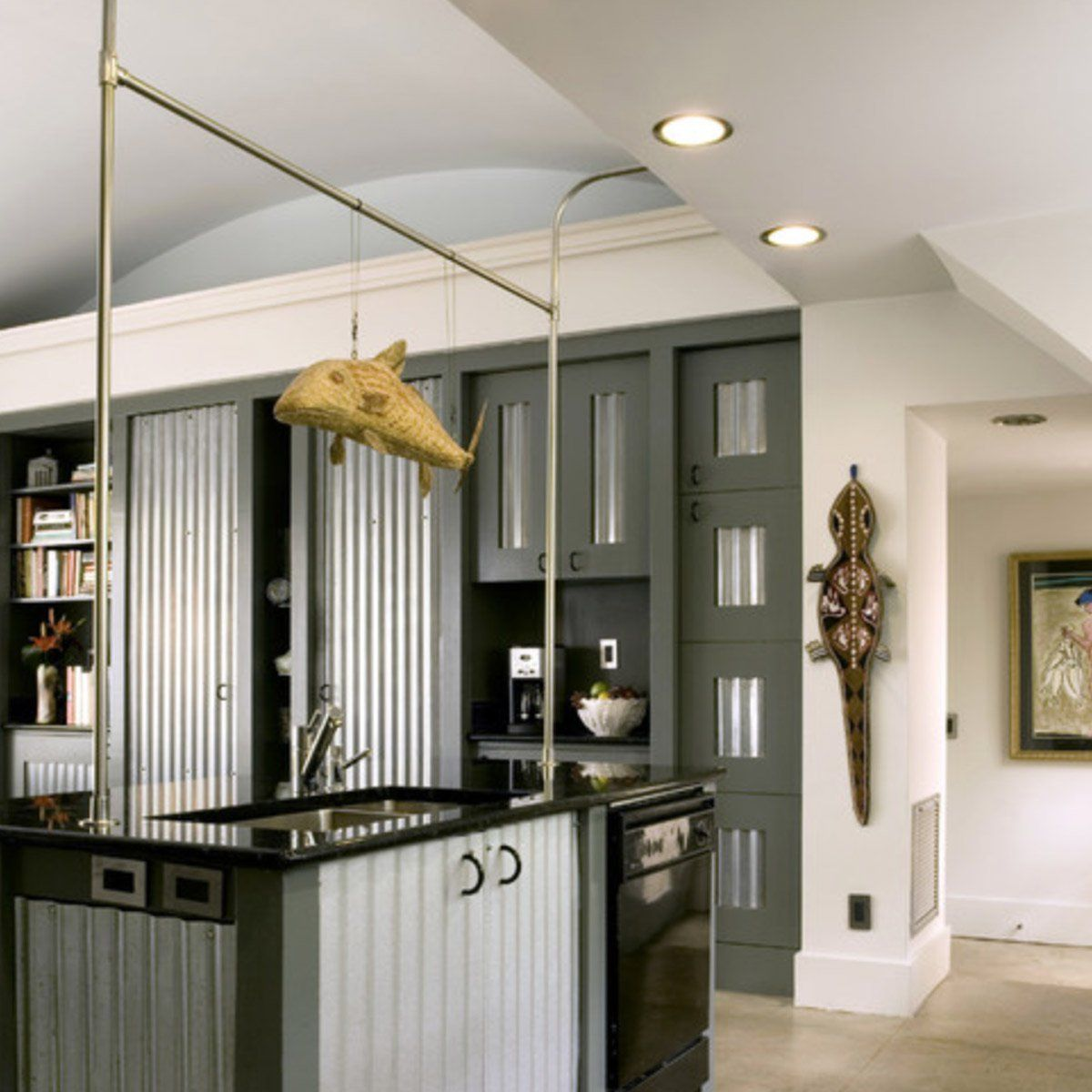 Stuck On What You Want Your Cabinet Doors To Look Like Just Get These Industrial Decor Kitchen Industrial Kitchen Design Kitchen Design Decor