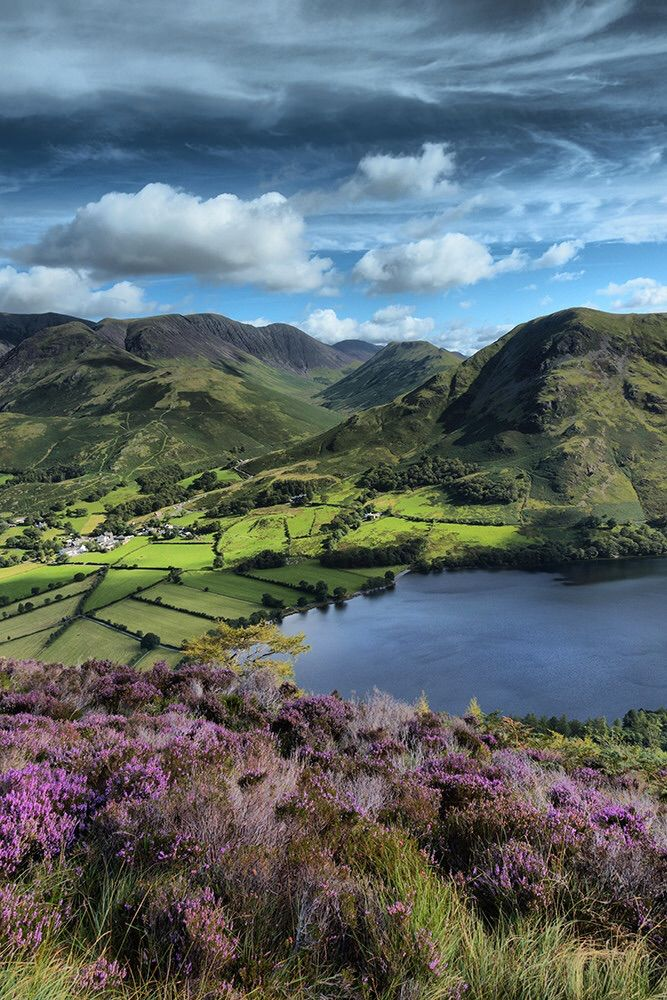 Buttermere Cumbria England Lake District Lake District England Travel English
