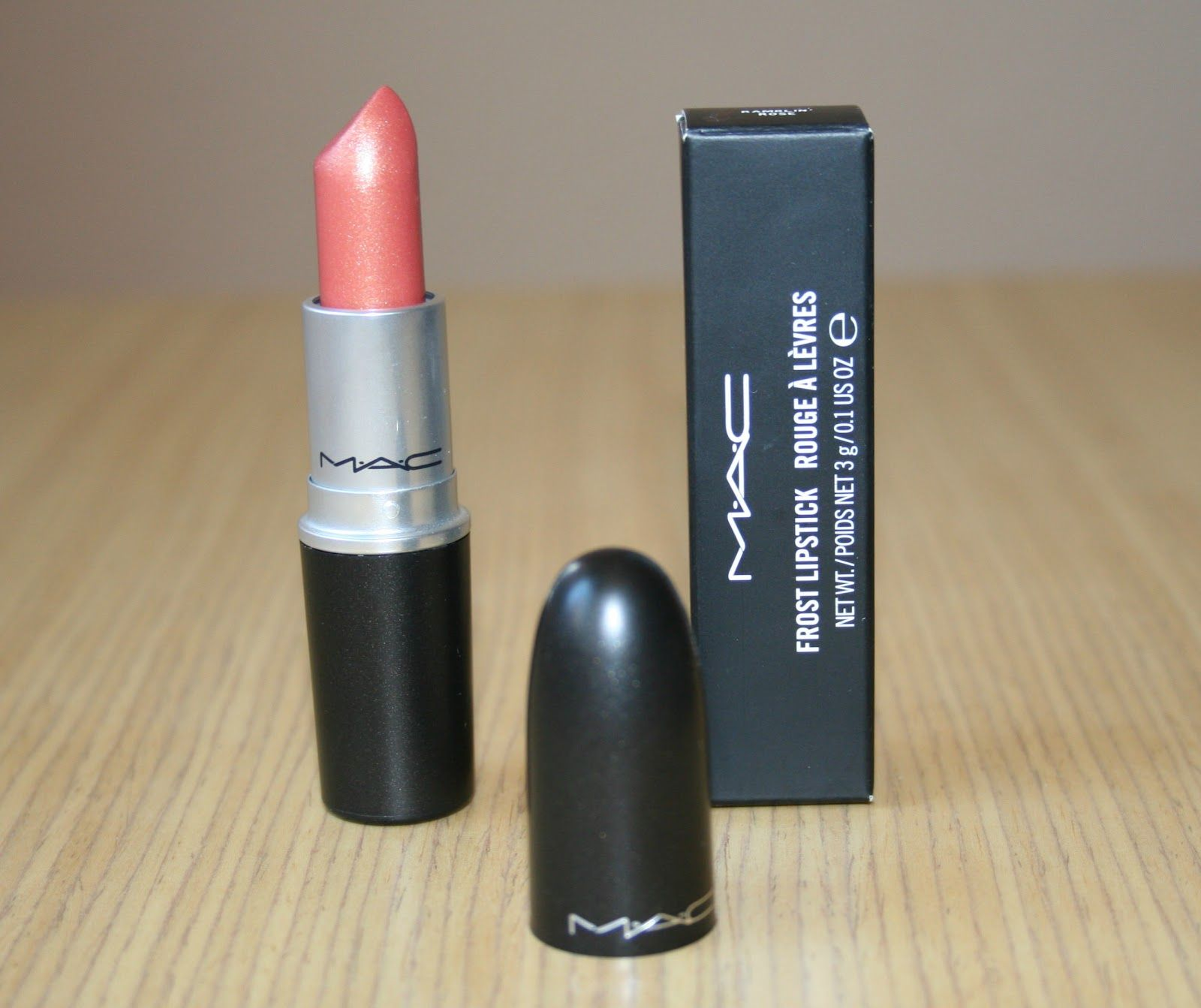 mac frost lipstick ramblin rose