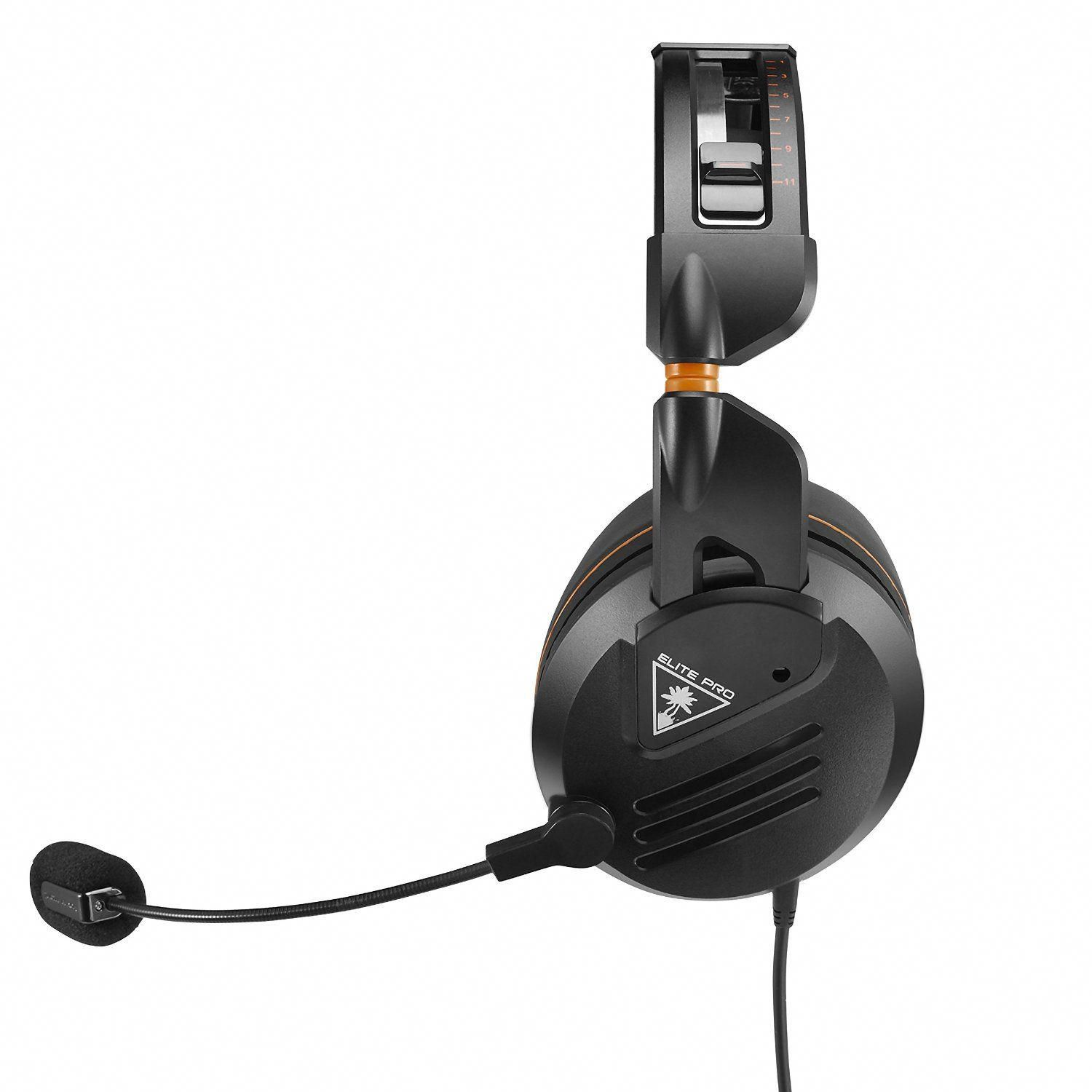 Turtle Beach Elite Pro Tournament Gaming Headset Comfortec Fit System And Truspeak Technology Xbox One Ps4 Pc And Mobi Gaming Headset Turtle Beach Headset