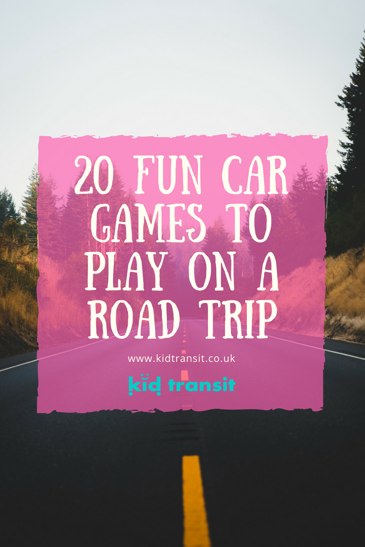20 Fun Car Games To Play On A Road Trip With Your Family All The