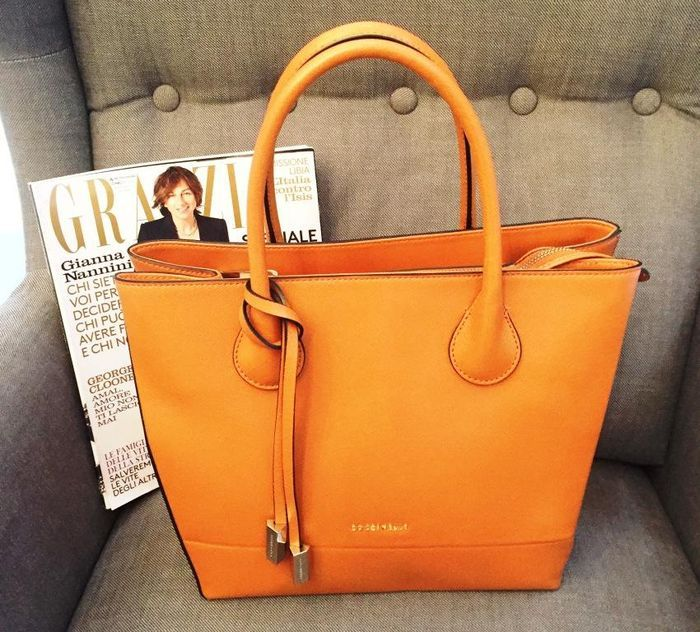 1893146869 Coccinelle - bag Simple Bags, Leather Interior, Leather Handle, Michael Kors  Jet Set