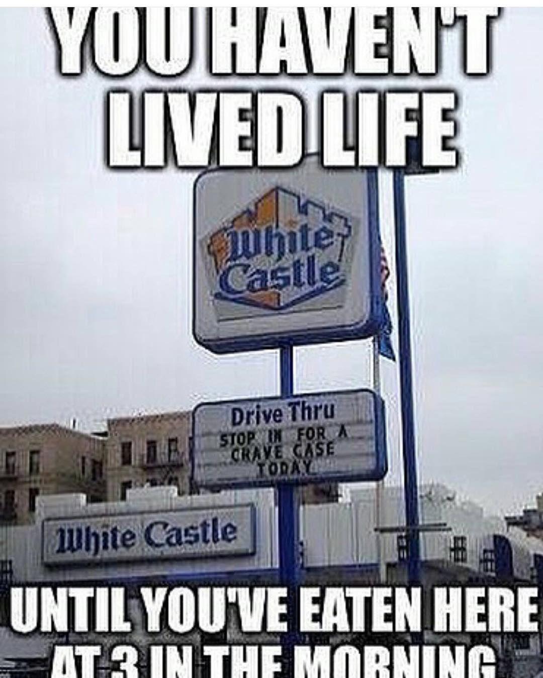 White Castle Burger Meme