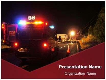download free ambulance emergency powerpoint template for your