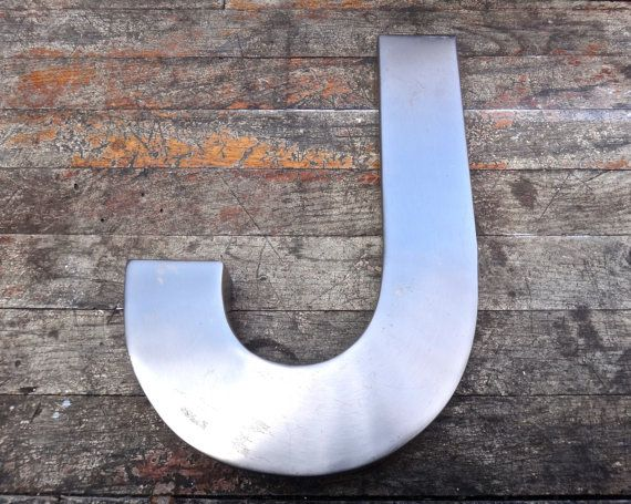 Large Metal Letter J Letter J Large Silver Letter Made In India Wallmaxsuniquities