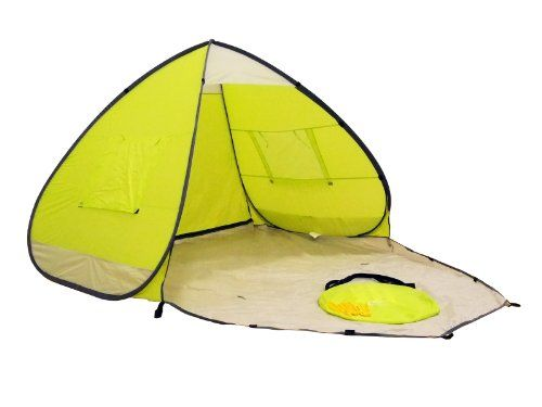 Genji Sports Pop Up Beach Tent With Extended Floor Click