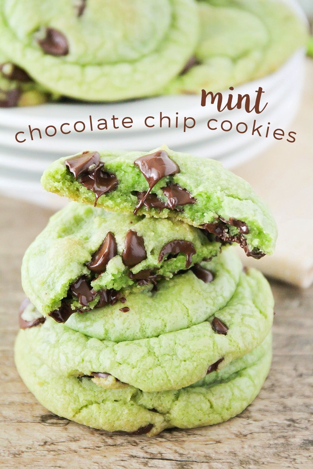 Photo of Mint Chocolate Chip Cookies