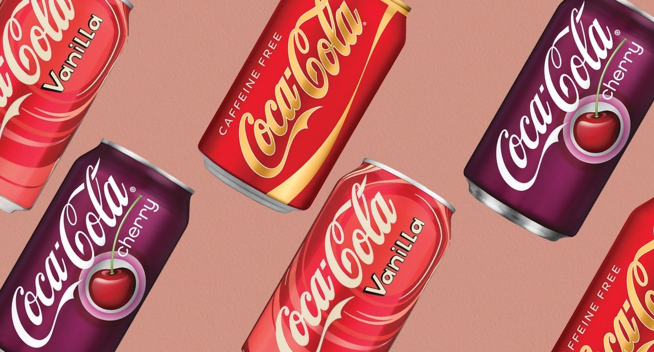 The Best Coke Flavors To Switch Things Up Influenster Reviews 2020 In 2020 Cherry Coke Can Coke Flavors