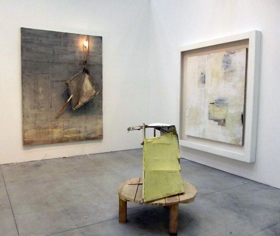 Lawrence Carroll at Michela Rizzo from Venice