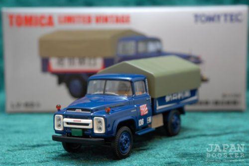 Tomica Limited Vintage Lv 62b 1 64 Nissan 680 Truck Asahi Newspaper Miniature Cars Nissan Trucks