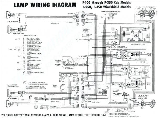 6 0 Powerstroke Wiring Harness Diagram Schematic in 2020