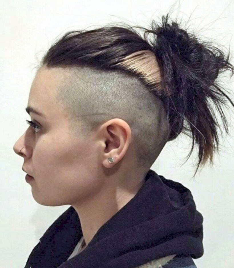 47 Unique Undercut Hairstyle Ideas For Women Matchedz Half Shaved Hair Short Hair Styles Hair Styles