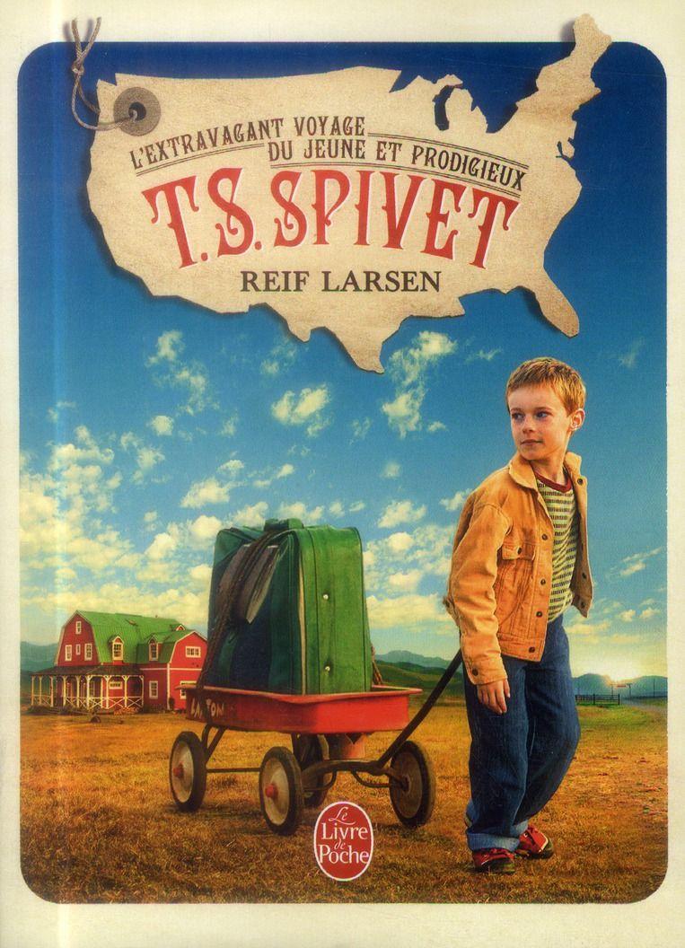 L'extravagant voyage du jeune et prodigieux T.S. Spivet - Reif Larsen - Librairie Generale Francaise - Poche - Vivement Dimanche LYON