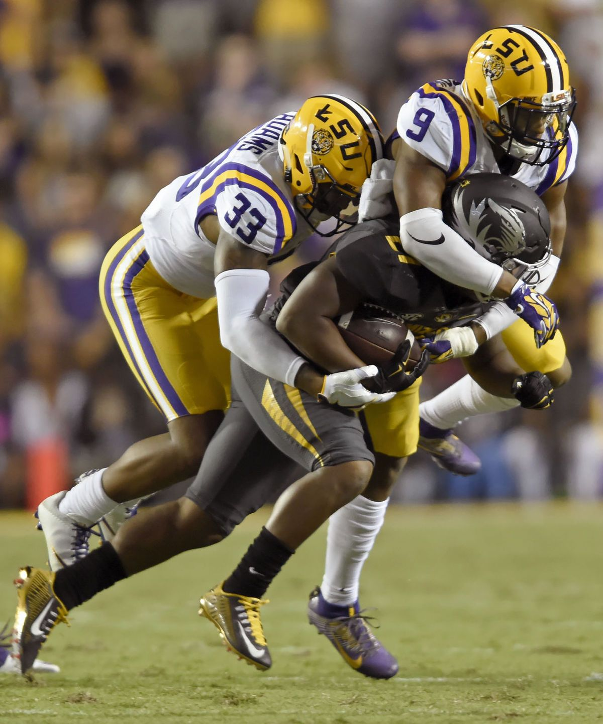 'Lost a heartbeat out there' LSU defensive backs playing