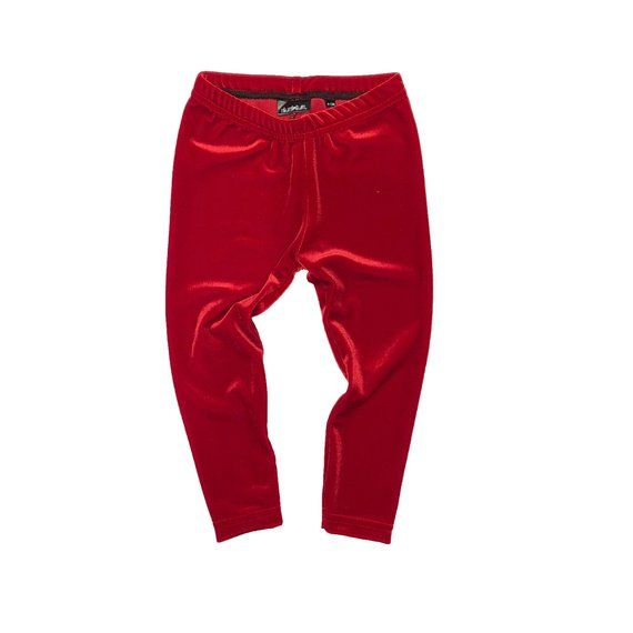 Red Velvet Leggings Baby Leggings Toddler Leggings Baby Pants