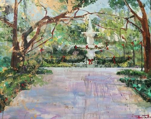 New Paintings Tiffani Taylor Gallery Savannah Chat Culture Art Painting