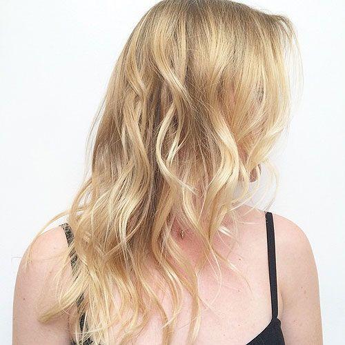 Long Wavy Hairstyle For Thin Hair Gorgeous Wavy Hair Hair Hair