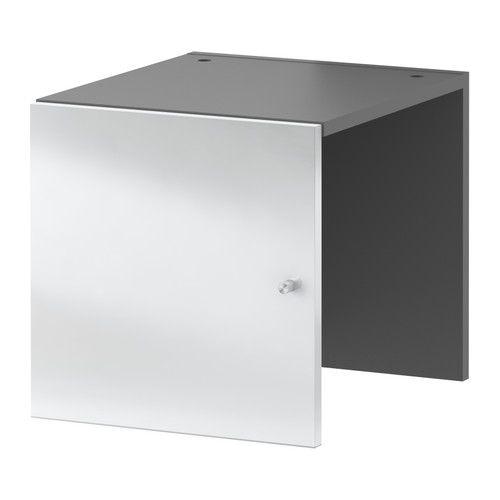 EXPEDIT Bloc Porte Miroir IKEA Structure Avec Revêtement De Finition - Bloc porte ikea