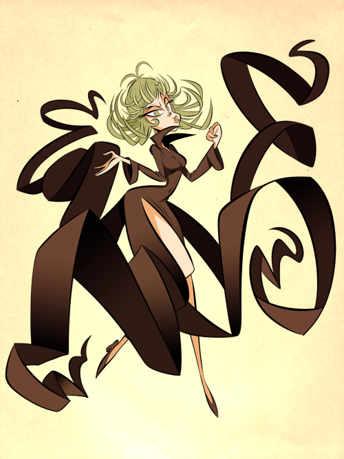 Tatsumaki from One Punch Man