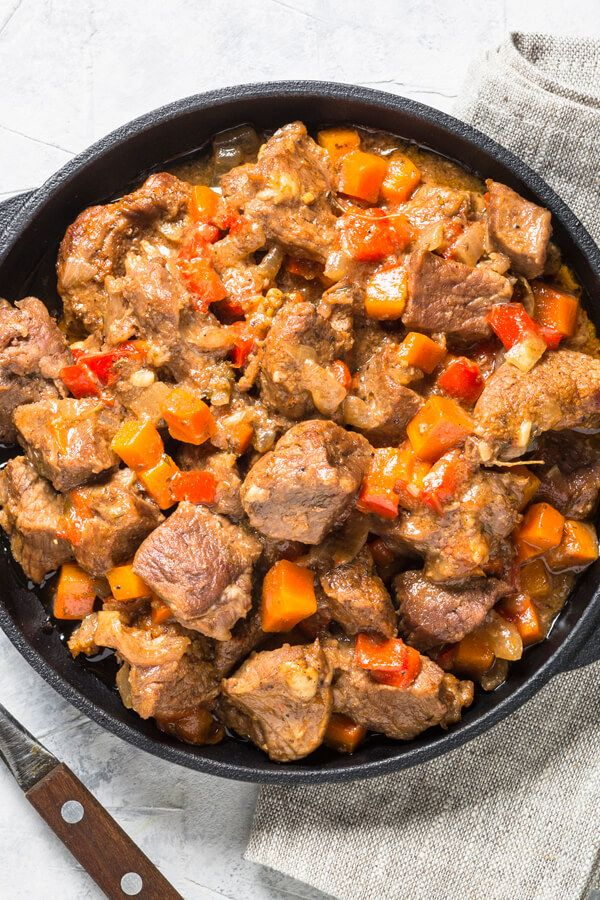 Photo of Couldn't Be Easier Crock Pot Beef Stew And Vegetables Recipe…