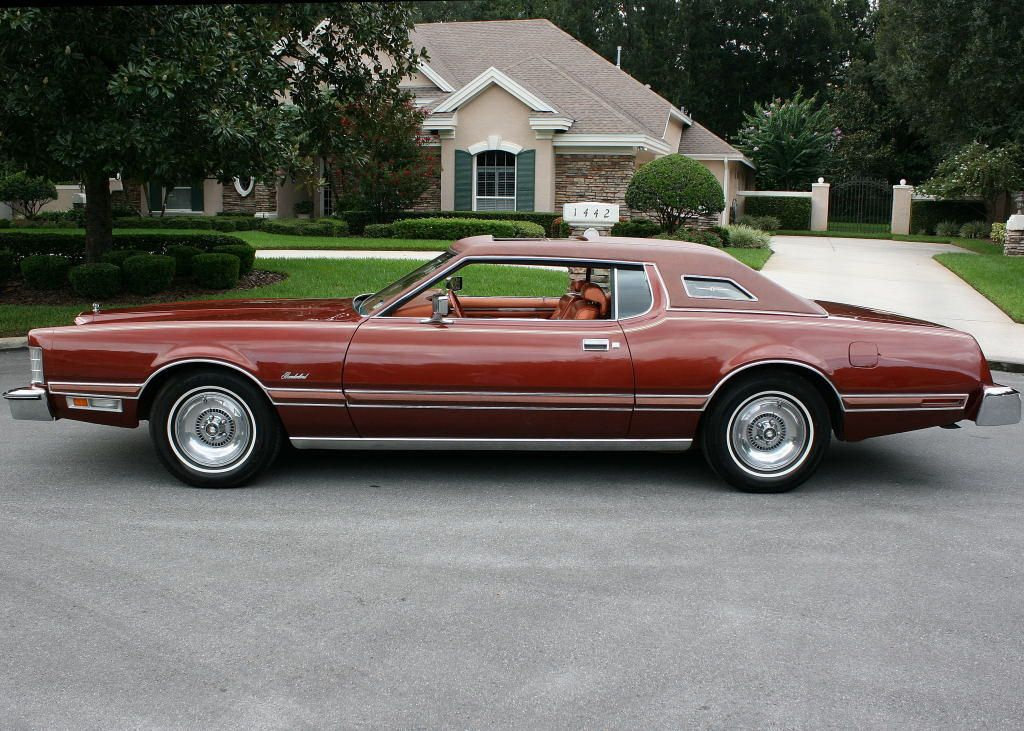 1975 Ford Thunderbird With Copper Luxury Group Thunderbird Ford
