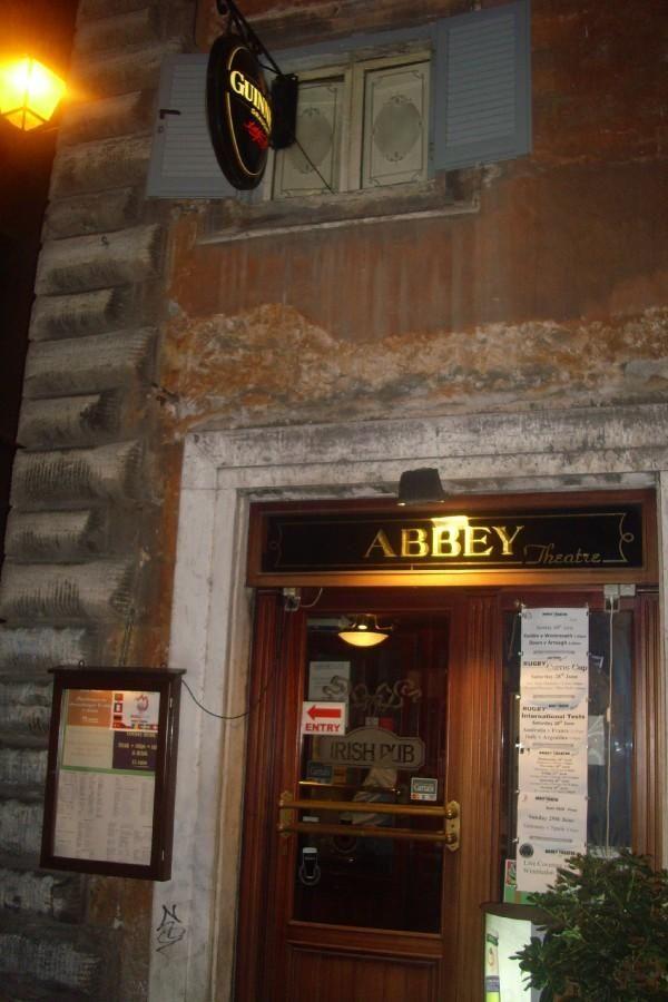 Abbey Theatre...Irish Pub downtown Rome   Favorite places ...