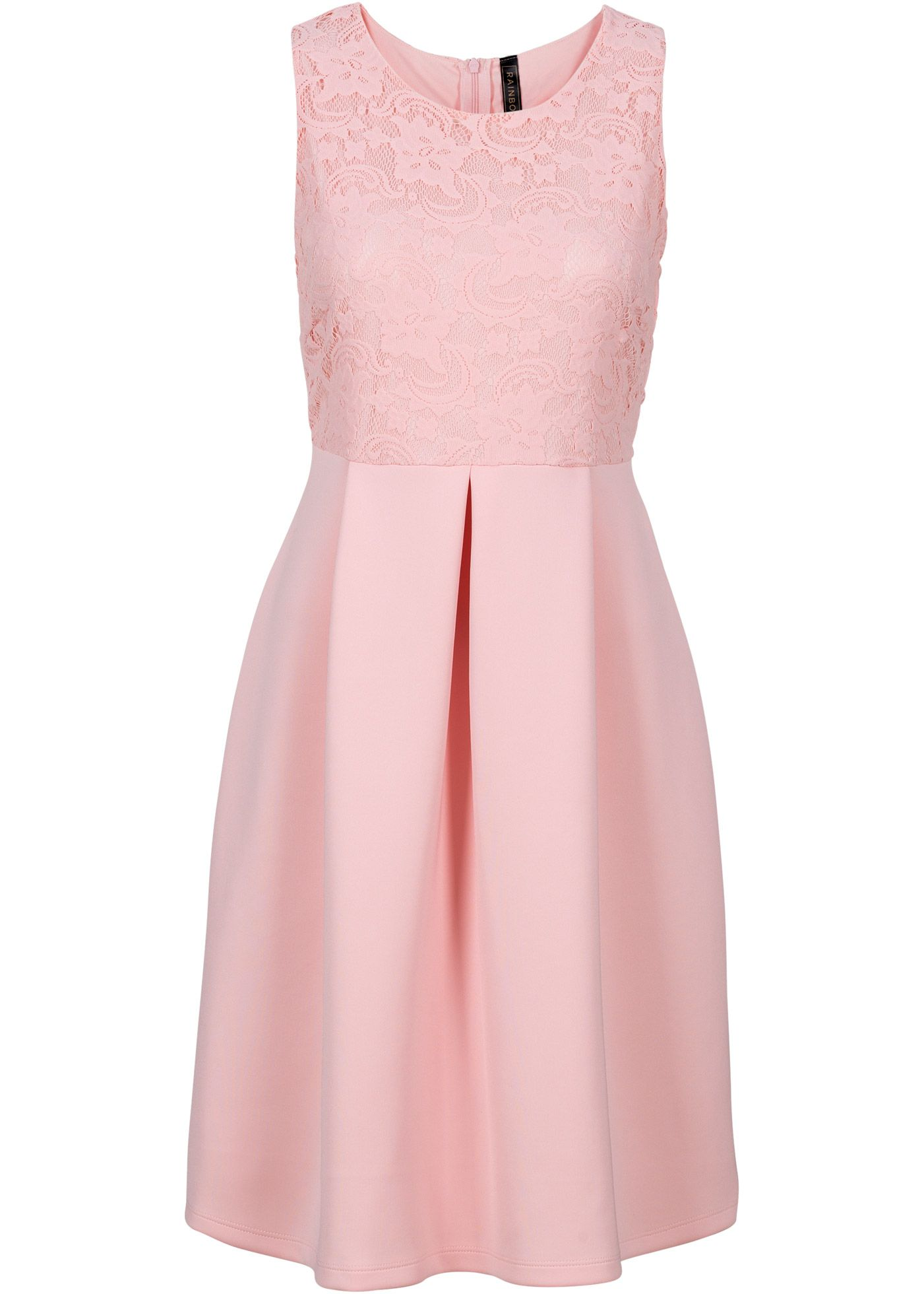 Rosa Kleid in Scubaoptik von Bonprix auf LadenZeile.de ➜ Jetzt