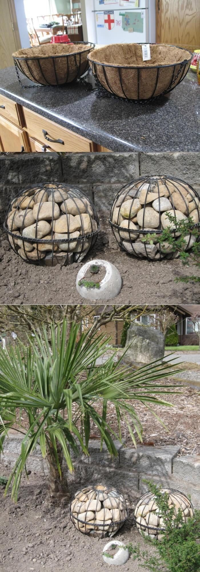 15+ Best DIY Garden Globe Ideas & Designs For 2020 is part of Garden globes, Garden spheres, Garden balls, Garden fountains outdoor, Diy garden, Backyard garden - Looking for something cool to do for your garden  Take a look at these creative garden globe ideas from different materials (upcycled, concrete   )