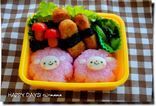 Lunch special - you do not use the [series] Nippon Ham lunch Navi-fire | HAPPY DAYS!