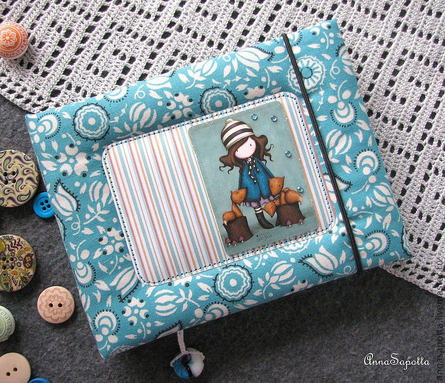 notebook handmade textiles