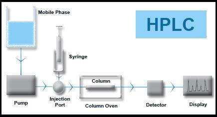 High Performance Liquid Chromatography Diagram | Chromatography