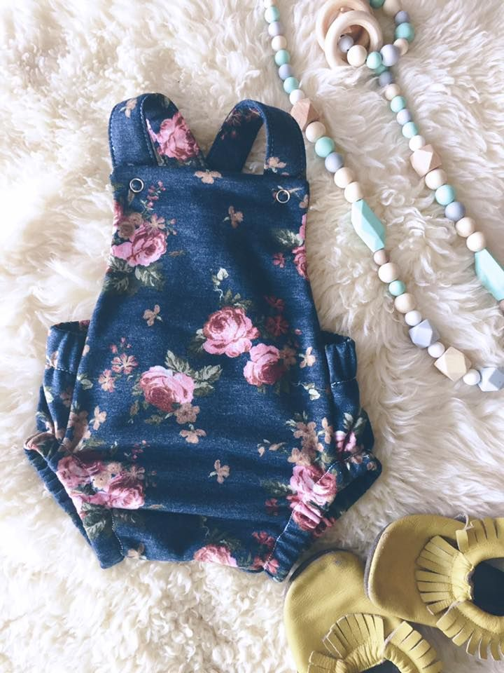 Brindille and Twig summer romper | Sew Perfect - Kiddo | Pinterest