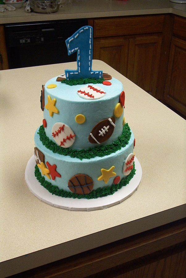 Sports For Sports Birthday Cakes For Boys wwwsportssrccom
