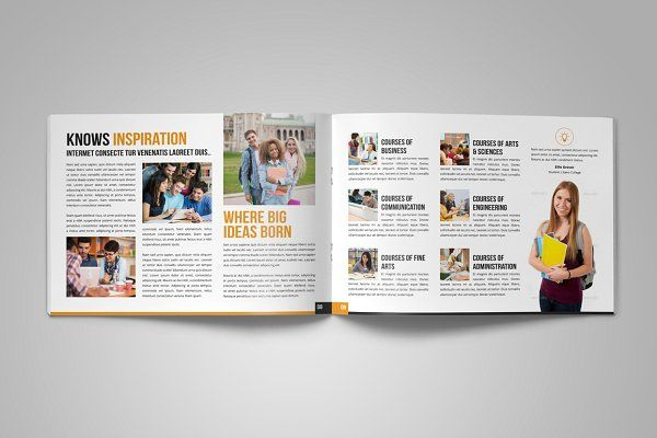 College University Prospectus Bundle By Miyaji On Creativemarket