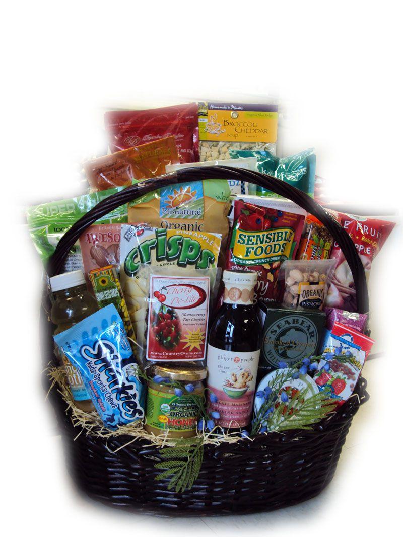 Super Deluxe Athlete Healthy Gift Basket Healthy Gift Basket Healthy Gift Fruit Basket Gift
