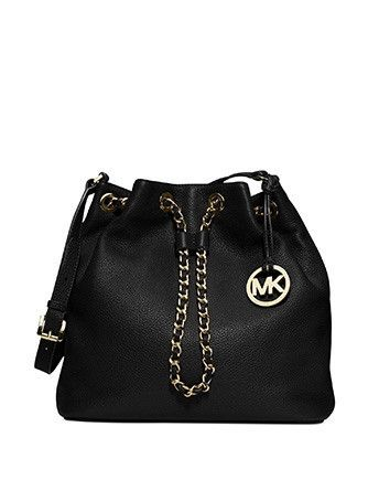 f2d2237c3247 Michael Michael Kors Frankie Large Leather Drawstring Convertible ...