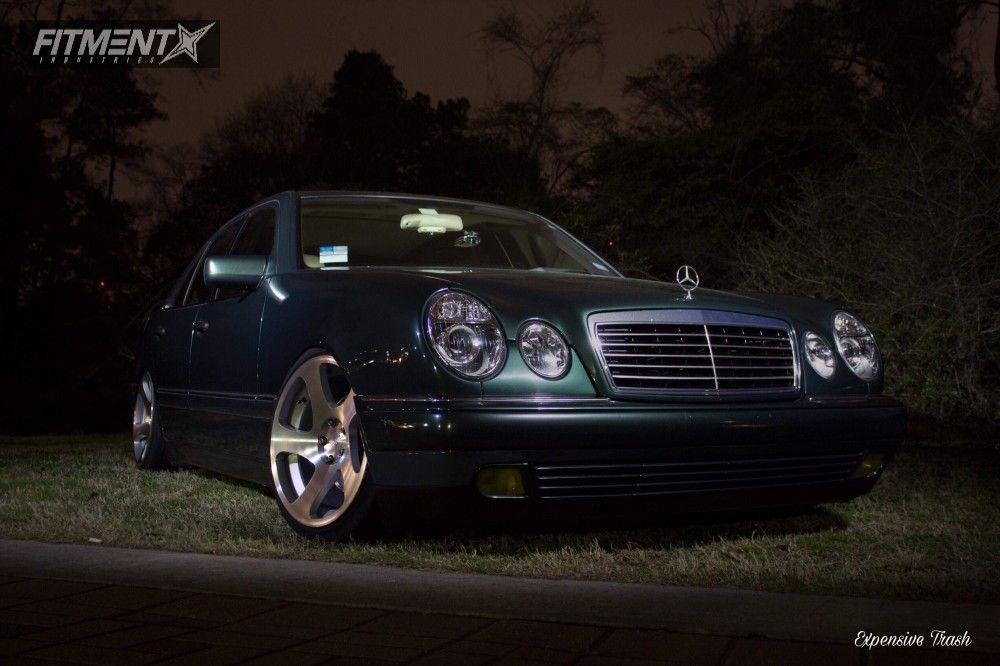 1 1997 E350 Mercedes Benz K Sport Coilovers Rotiform Tmb Silver Www Fitmentindustries Com Mercedes Benz Mercedes E 320 Rotiform