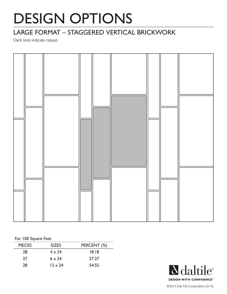 Page 3 Of Large Format Tile Pattern Designs 2016 Patterns
