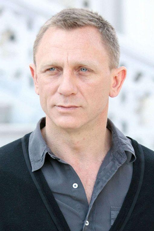Daniel Craig Daniel Craig Style Thin Hair Men Men With Grey Hair