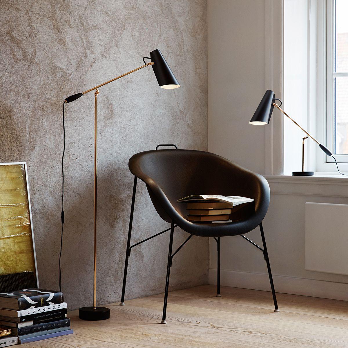 Northern Lighting Stehleuchte Birdy, Schwarz   318 Euro Floor Lamp