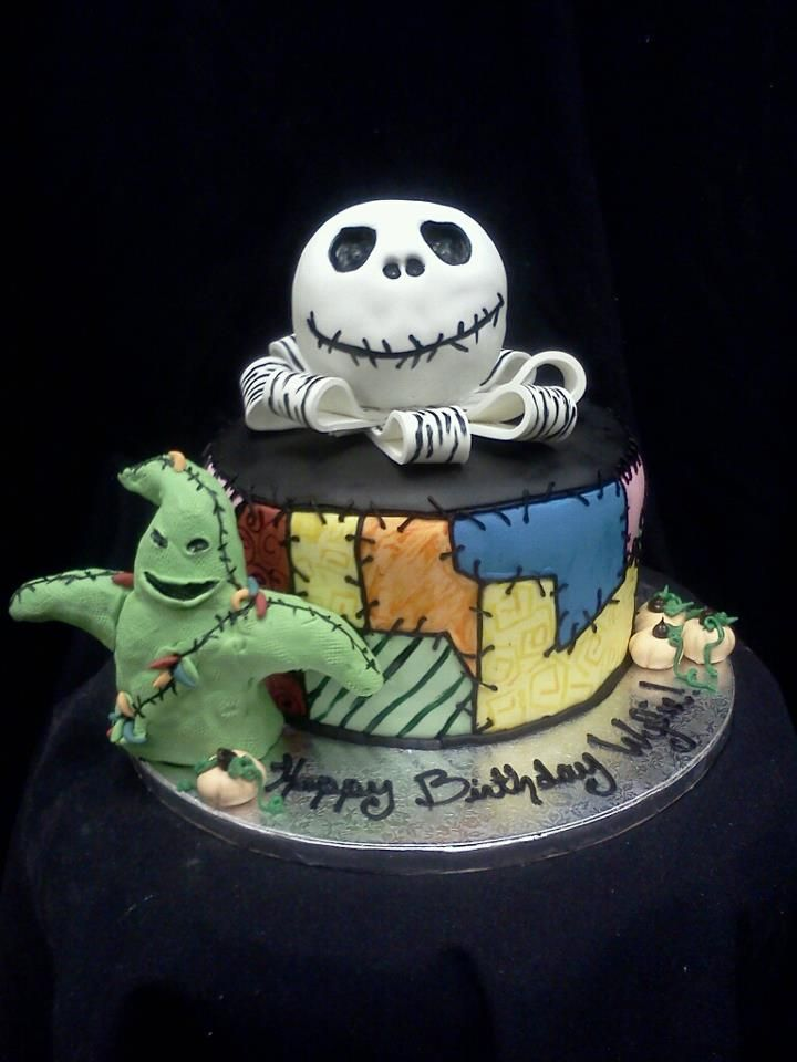 Nightmare before Christmas cake Cakes I want to make Pinterest
