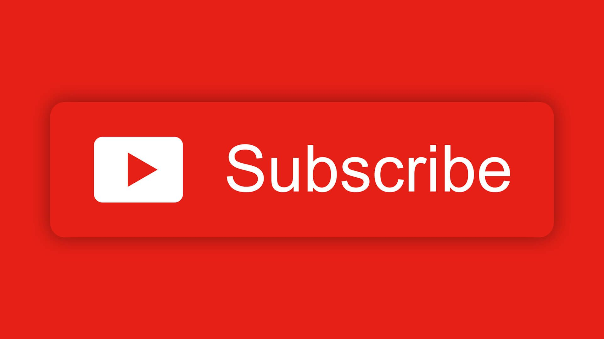 Free Youtube Subscribe Button Download Design Inspiration Desain