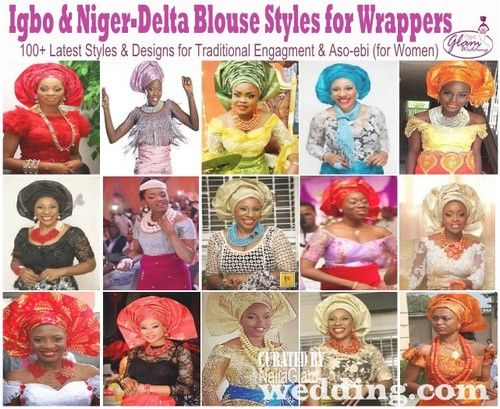 Top 100 Igbo Blouse Styles: Niger-Delta & Igbo Women