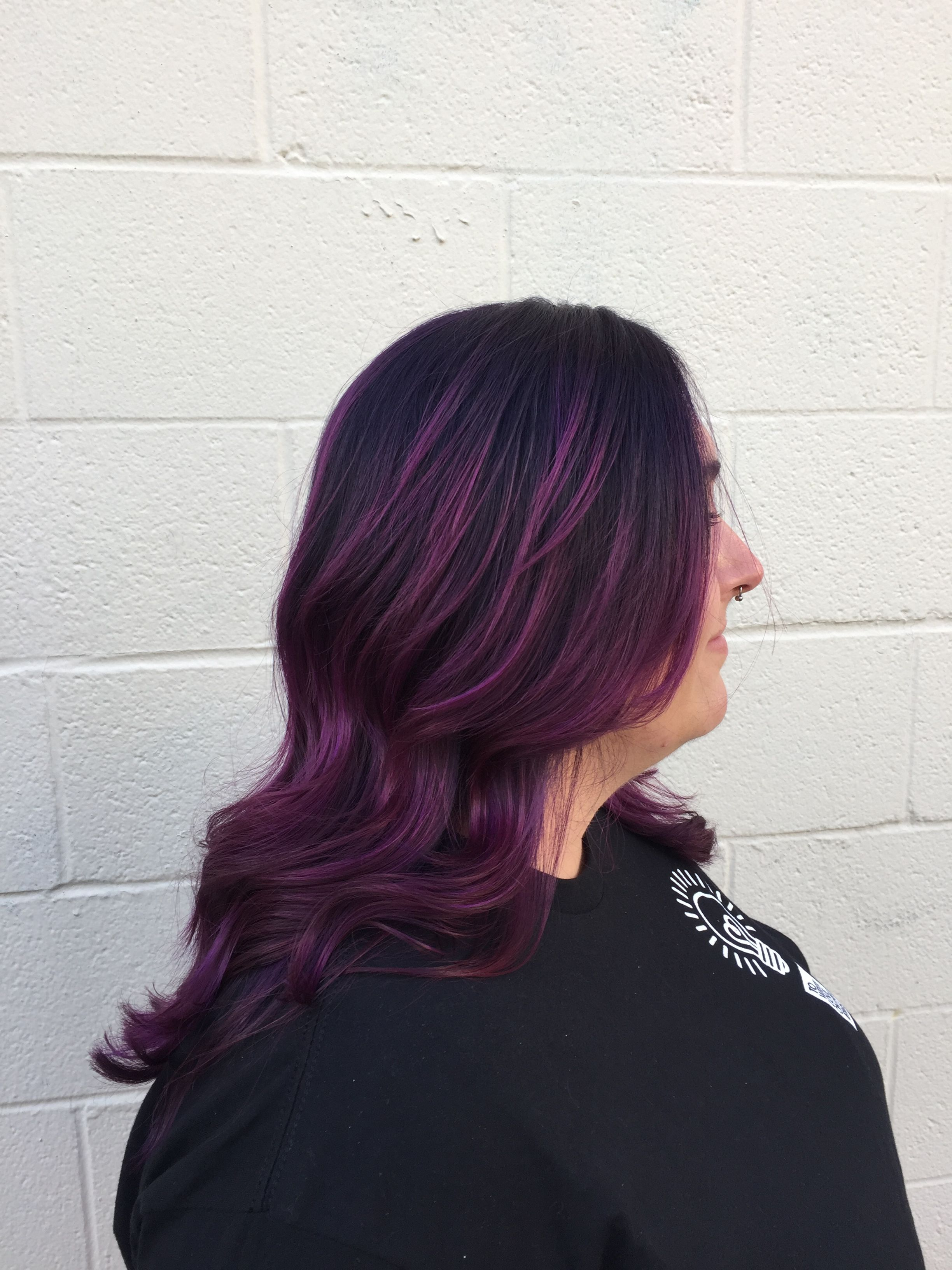 Purple Amazingness By Laine At Transformations Salon And Spa Purple