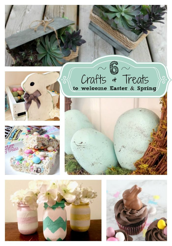 6 Crafts & Treats to welcome Easter & Spring : Friday Favorites Features - Week 313 - LeroyLime