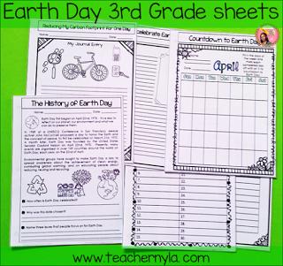 Earth Day Worksheets 3rd Grade ThirdGradeTroopcom Pinterest