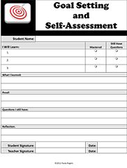Article And Tools For Student To SelfAssess And Set Academic