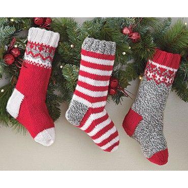 Mary Maxim - Ragg Christmas Stockings - Christmas ...